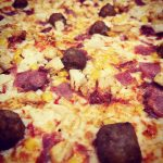 Texas State Pizza and Emmanuel McMenamin
