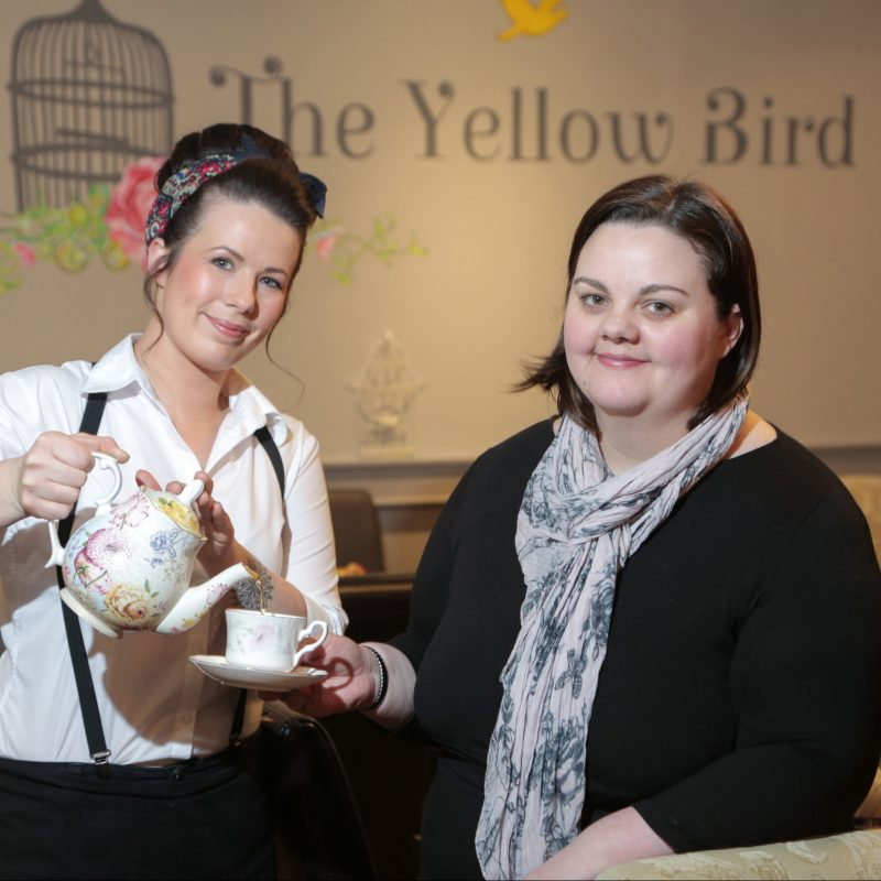 The Yellow Bird Cafe Margaret-Ann Sexton