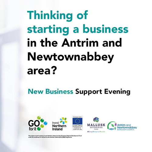 Thinking of starting a business in the Antrim and Newtonabbey area?