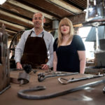 Patterson's Forge Hammer and Tongs James McCullough Go For It